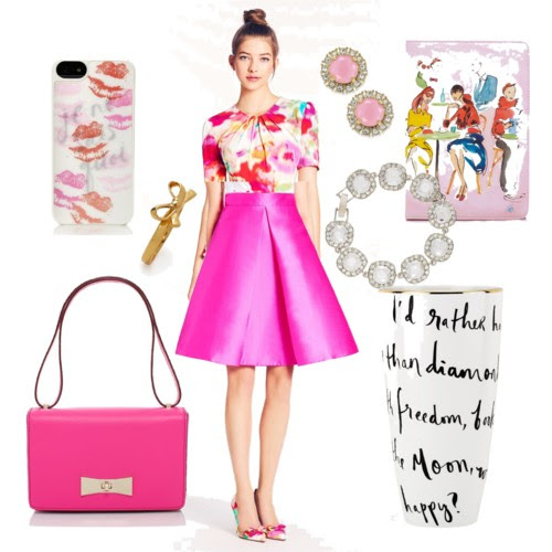 Kate Spade Spring 2014 on calicrest.com