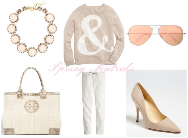 Spring Neutrals on CaliCrest.com