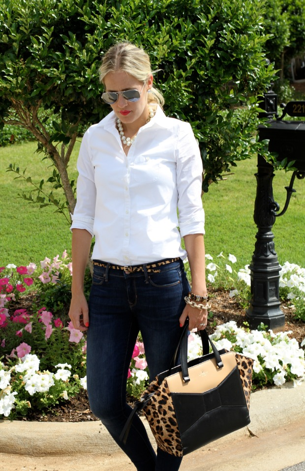 White Blouse with Skinny Jeans and Leopard on CaliCrest.com.jpg