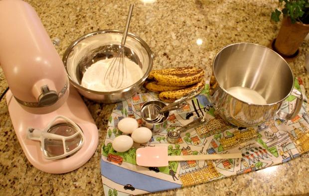 Baking Banana Bread on CaliCrest.com