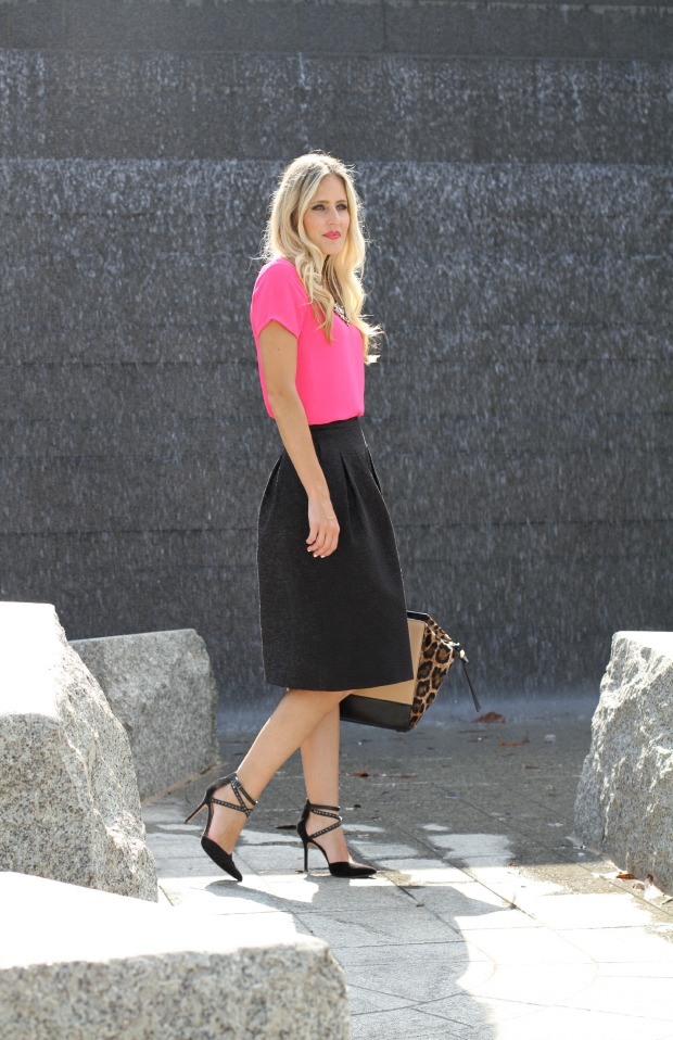 H&M Midi Skirt on CaliCrest.com