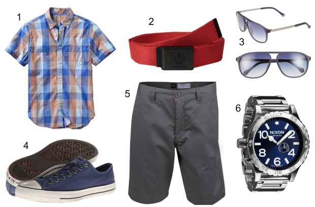 Men's 4th of July outfit ideas on CaliCrest.com