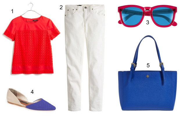 Women's 4th of July outfit ideas on CaliCrest.com