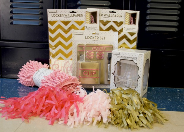 DIY glam up your tween girls locker for middle school on CaliCrest.com