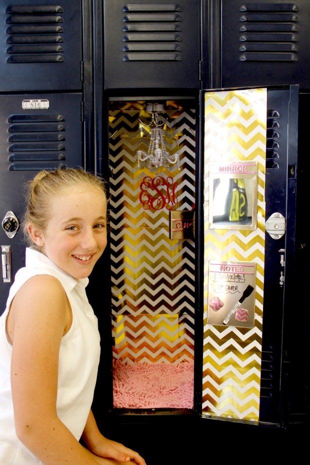 Girls Locker Decorating on CaliCrest.com