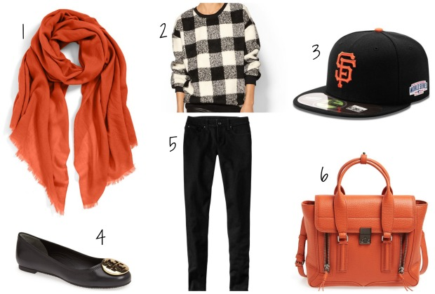 Outfit inspiration for SF Giants Baseball Game