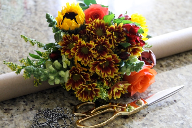 DIY make store-bought flowers look like they came from the florist