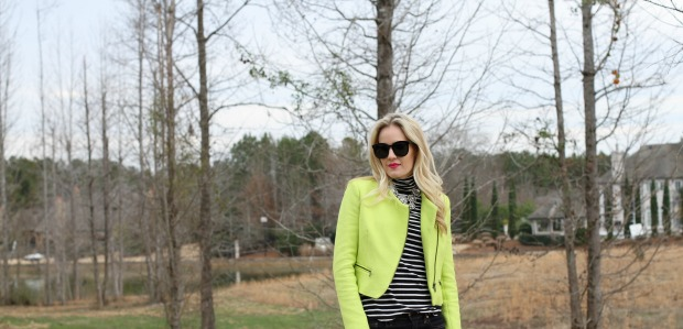 Neon and Stripes on CaliCrest.com