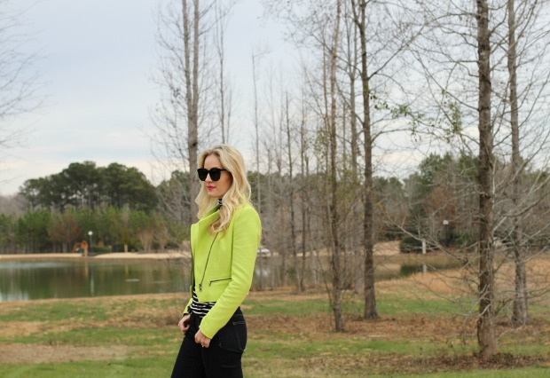 Neon Zara Jacket on CaliCrest.com
