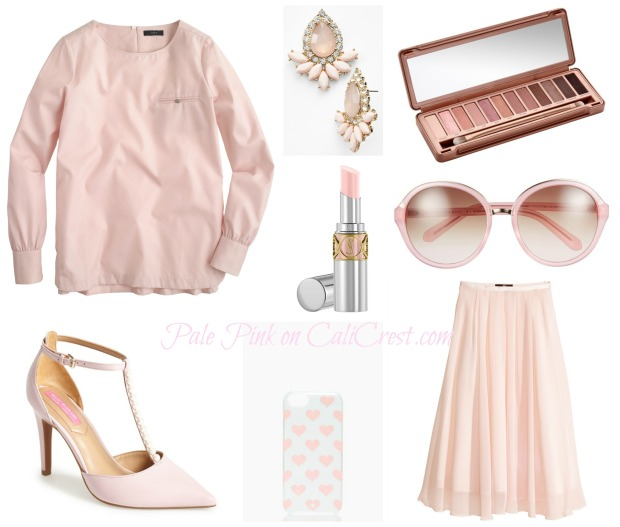 Pale Pink on CaliCrest.com