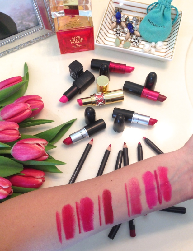 The Best Red and Pink Lipsticks on CaliCrest