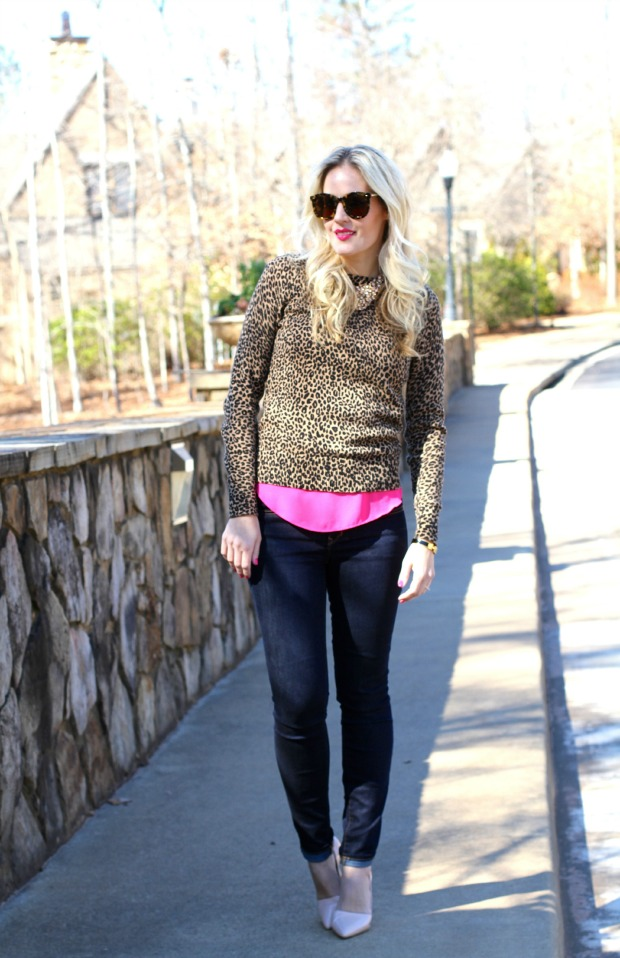 Pink and Leopard Street Style on CaliCrest