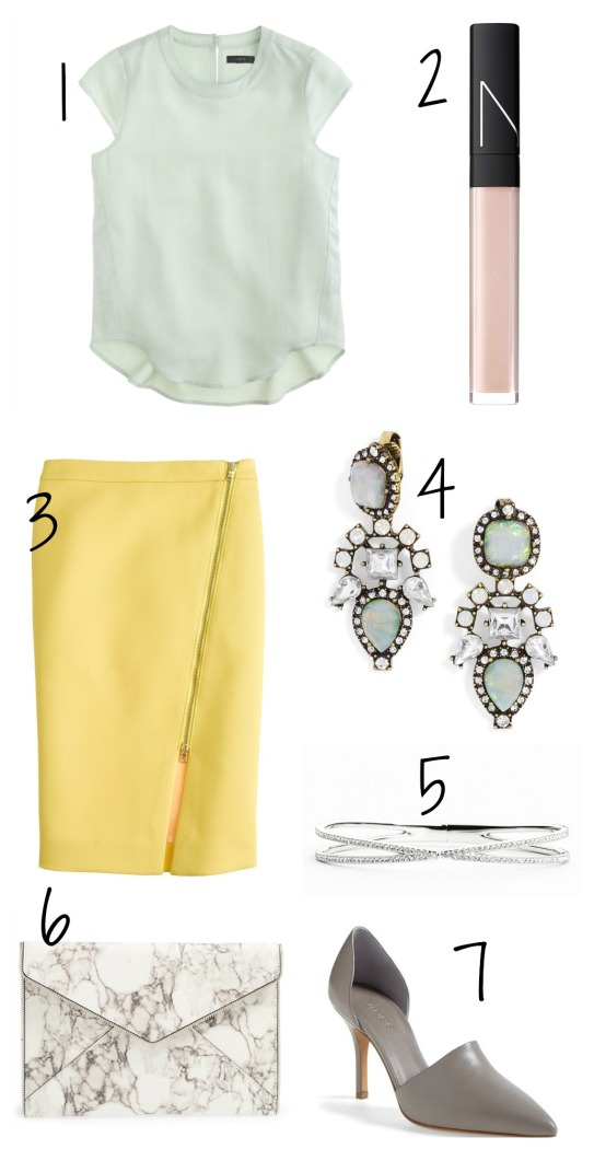 Spring Wishlist on CaliCrest