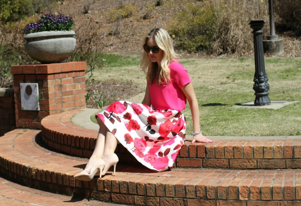 Rose Skirt on CaliCrest