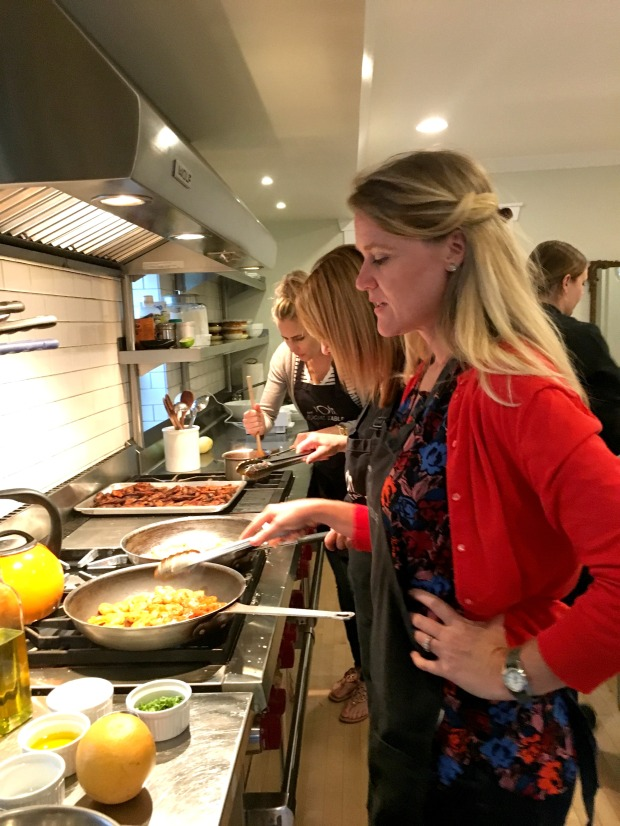 Cooking Class at The Social Table
