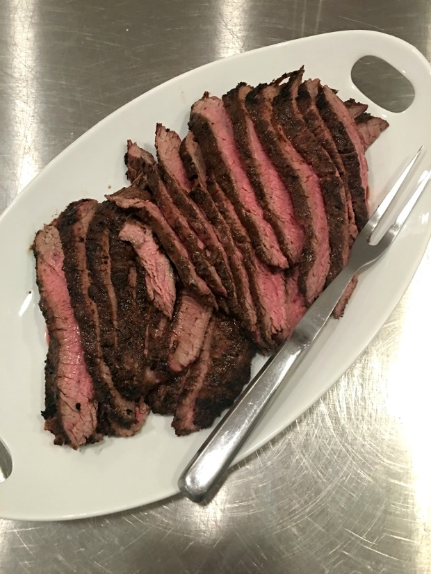 Flank Steak at The Social Table