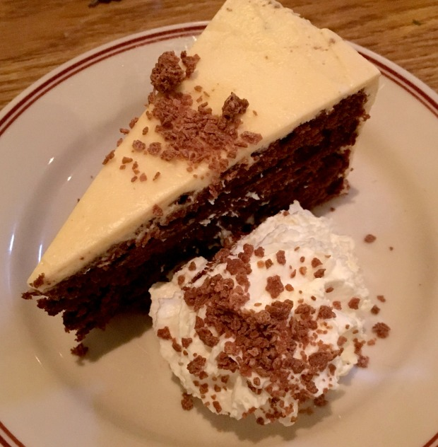 Mexican Chocolate Cake at The Little Goat Diner on CaliCrest